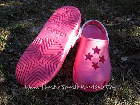 Croc star shoes