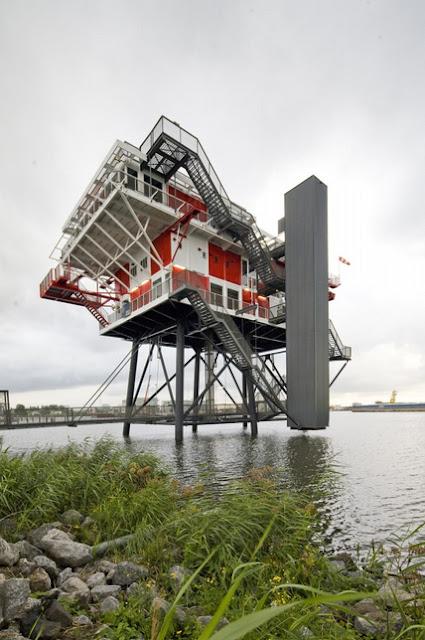 REM Island Restaurant in The Netherlands - Inspiring Modern Home