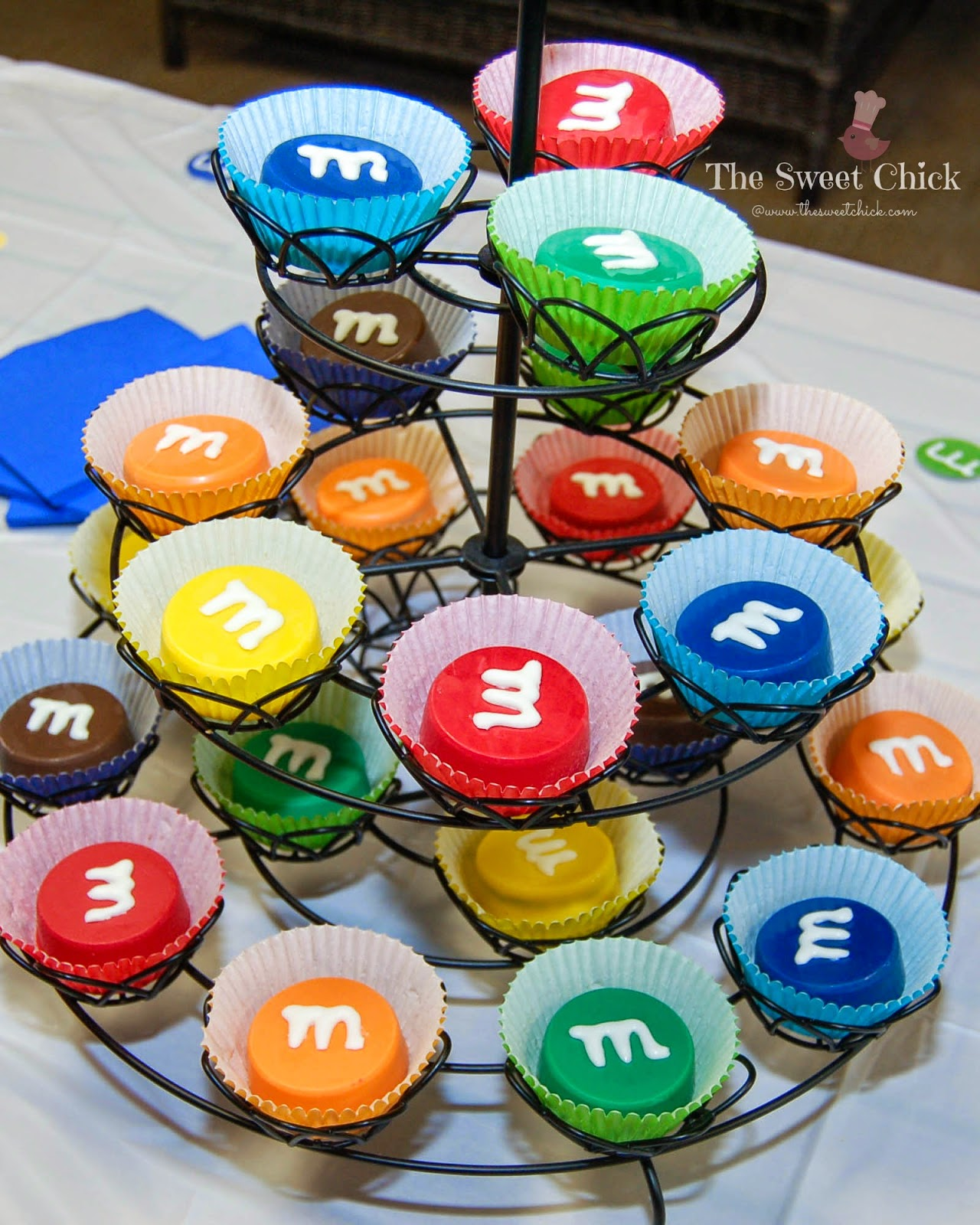 M&M Party Favors by The Sweet Chick