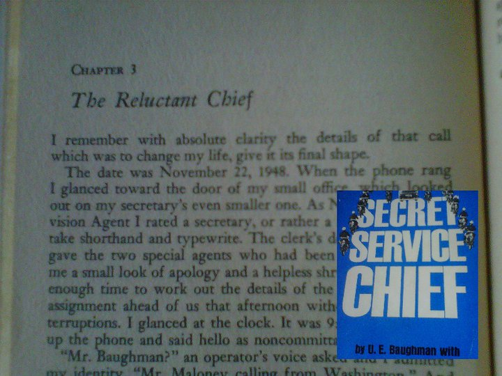 11/22/48...11/22/63! CHIEF BAUGHMAN, FIRED BY JFK