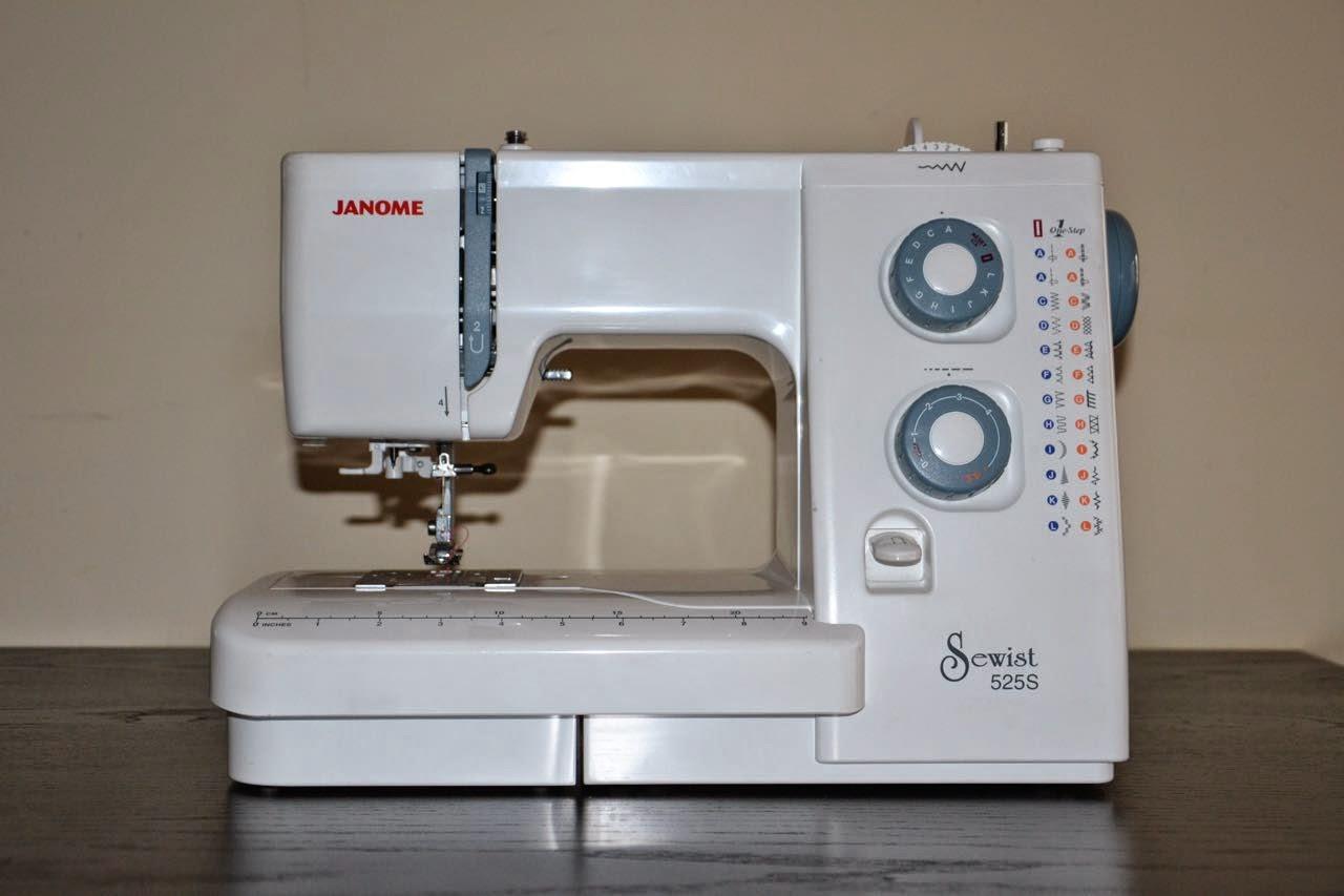 Петля для пуговицы на швейной машине Janome - Самошвейка 20