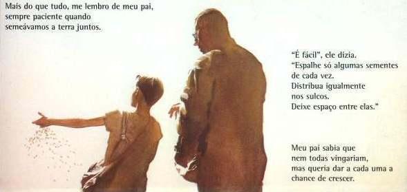 Negócios de Família: Jonathan ensina o pequeno Clark.