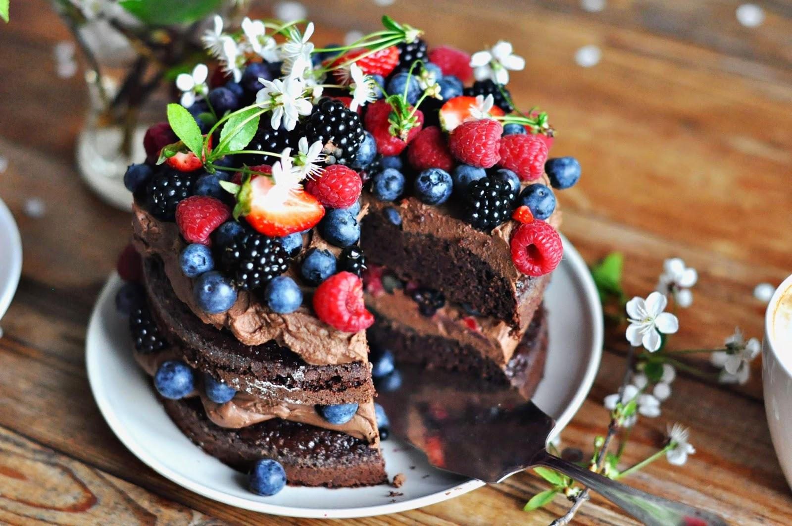 Freeze fruit cake wedding