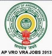 VRO VRA Recruitment 2013