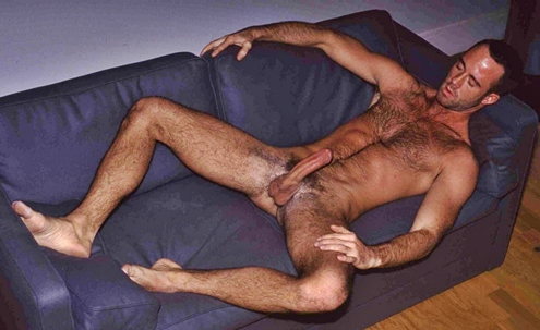 Hairy Muscle Men Steve Kelso
