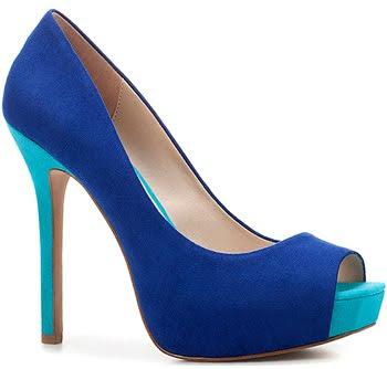 peep toes azul Zara