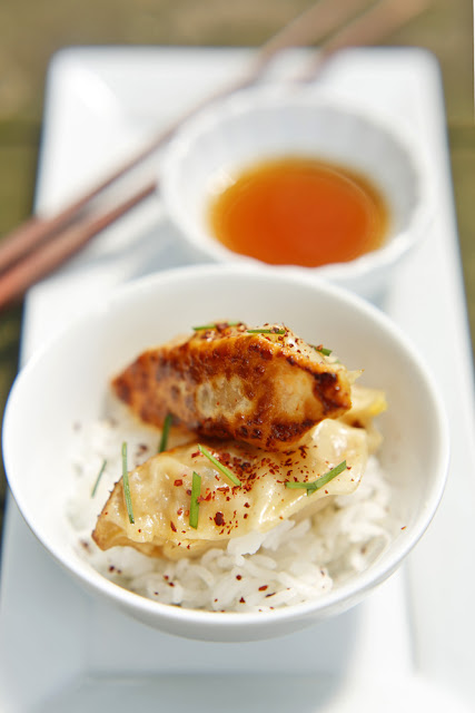 The Chubby Vegetarian: Kimchi and Peanut Dumplings