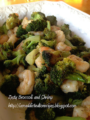 Zesty Broccoli and Shrimp | Addicted to Recipes