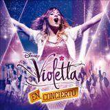 Participación en Violetta en Concierto / Lanzamiento marzo 2014