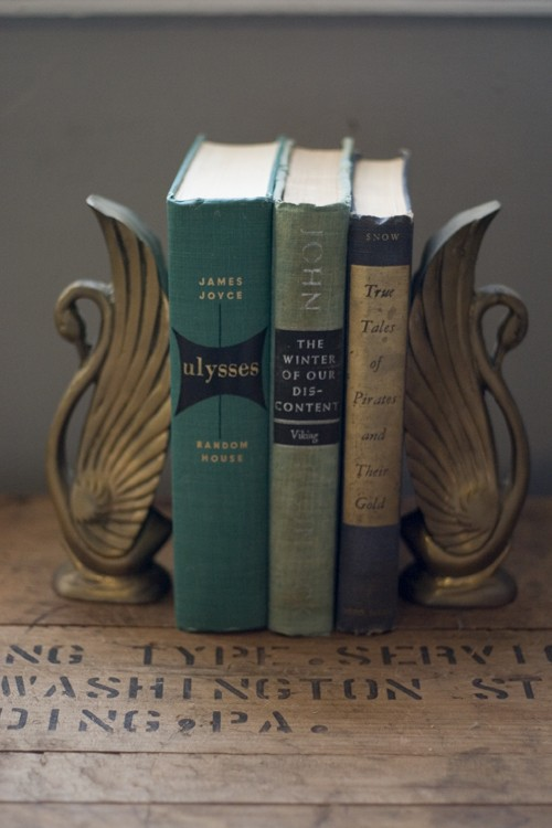 a shimmering star etsy finds vintage bookends