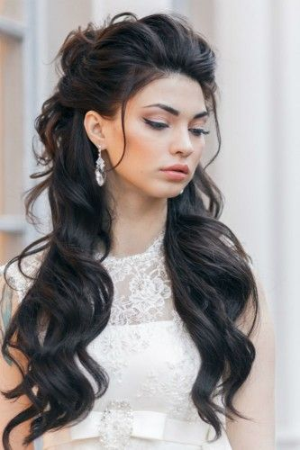 24 STUNNING HALF UP HALF DOWN WEDDING HAIRSTYLES