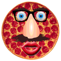 Talking Pizza - a character from the game