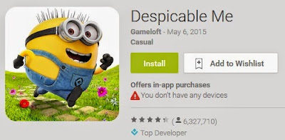 Despicable Me APK ( Android Game )
