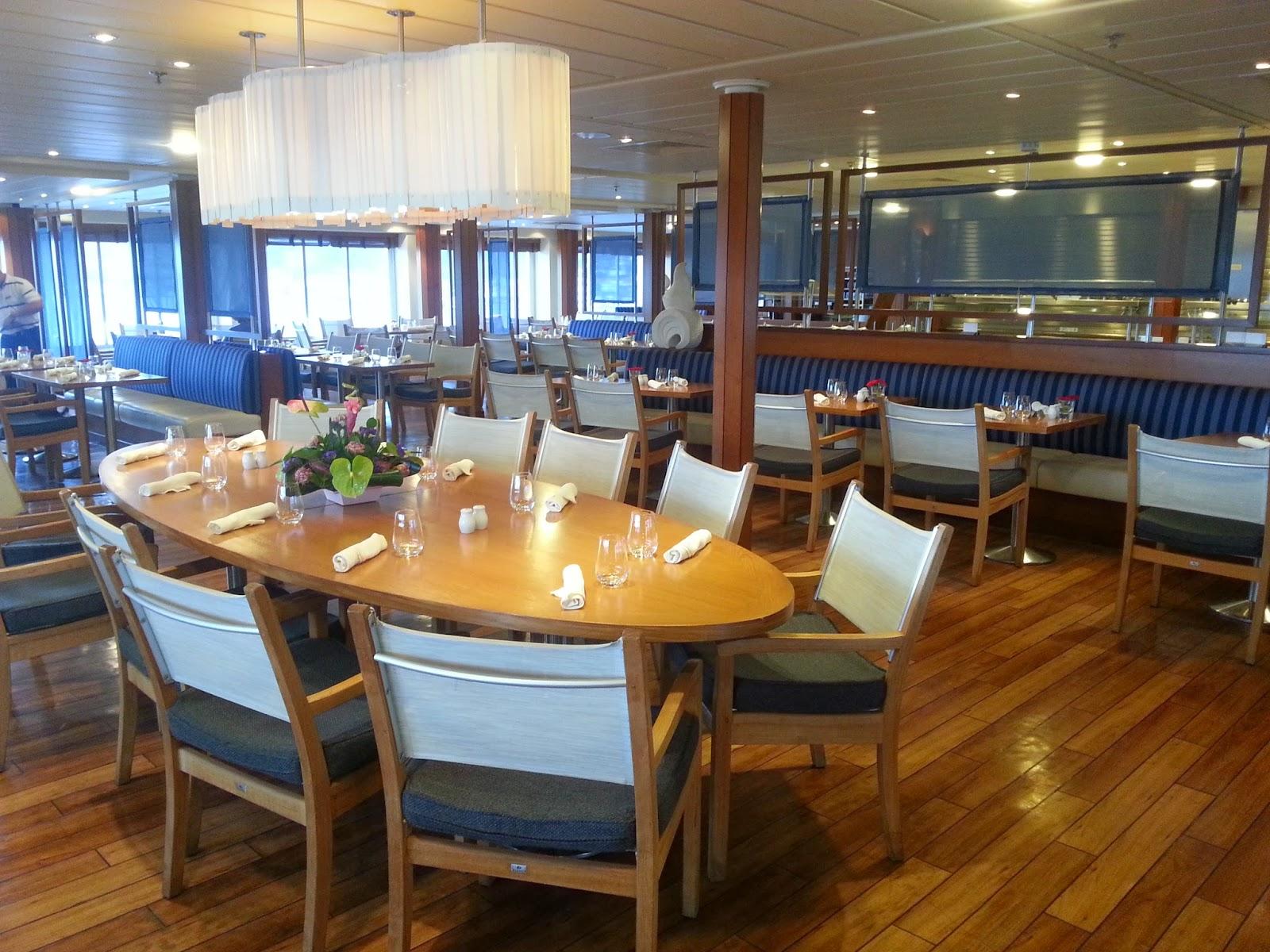 Cruise Ship Saga Pearl II - Verandah Restaurant