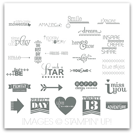 Stampin' Up! Hooray For Today Stamp Brush Set Digital Download
