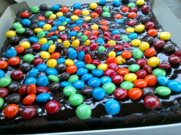 M n M's  COKLAT BROWNIES
