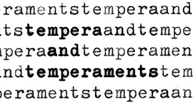 Tempera and Temperaments