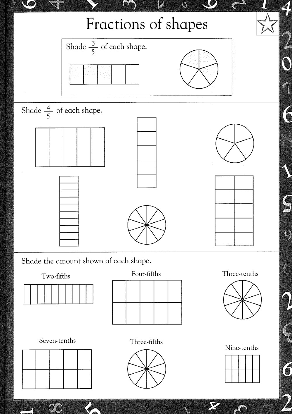 math worksheet : free printable maths worksheets  maths worksheets for kids : Fractions Worksheets Ks3