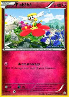 Flabebe #62/106 Flashfire Pokemon Card