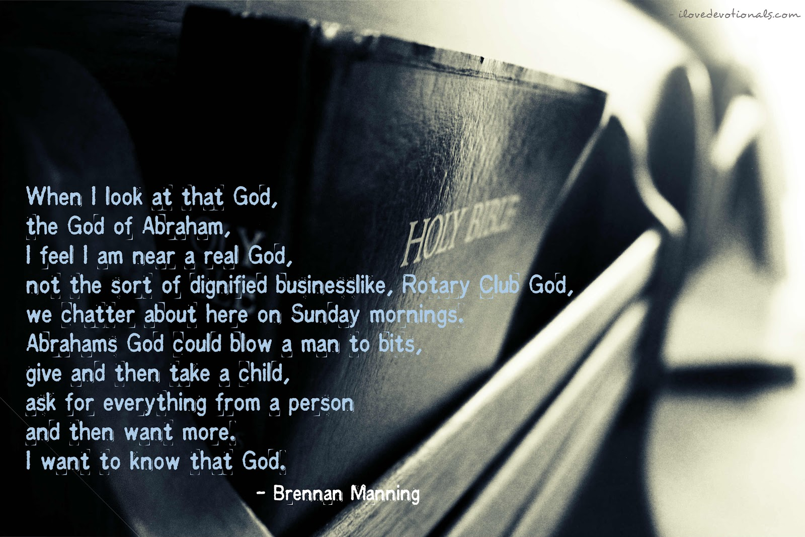 brennan manning quote small