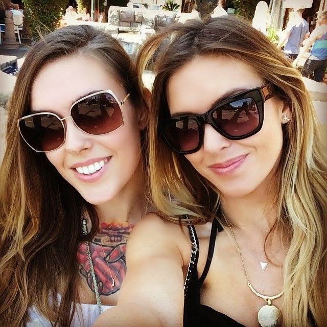 Audrina Patridge shares a few image into her Instagram account on Tuesday, May 6, 2014 during vacation at Puerto Aventuras, Mexico