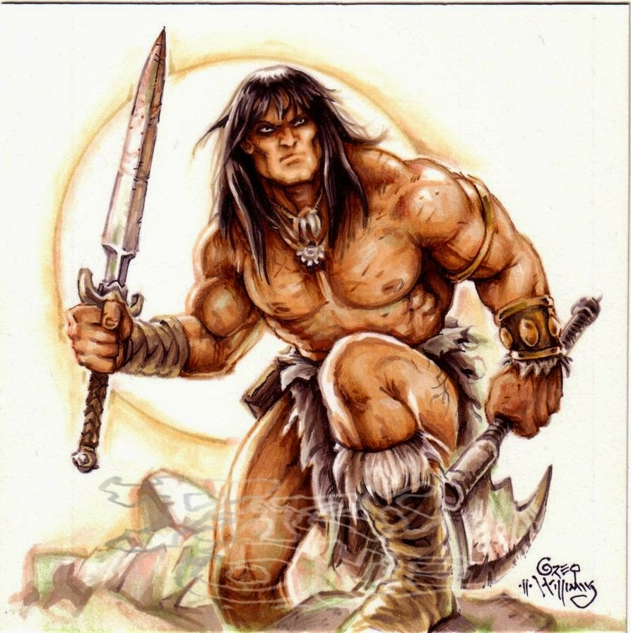 Conan the barbarian cartoon porn pron video