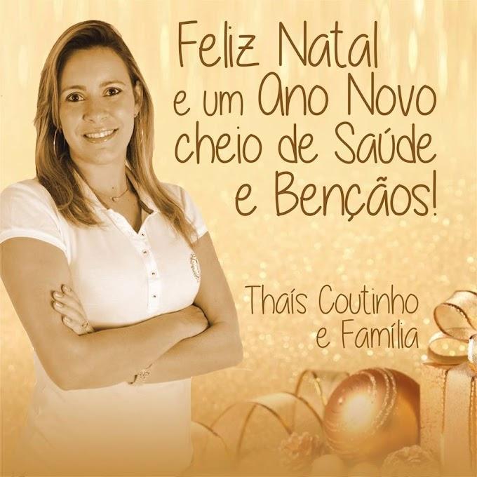 Vereadora Thaís Coutinho e Família deseja aos caxienses um 2016 cheio de saúde e bençãos!
