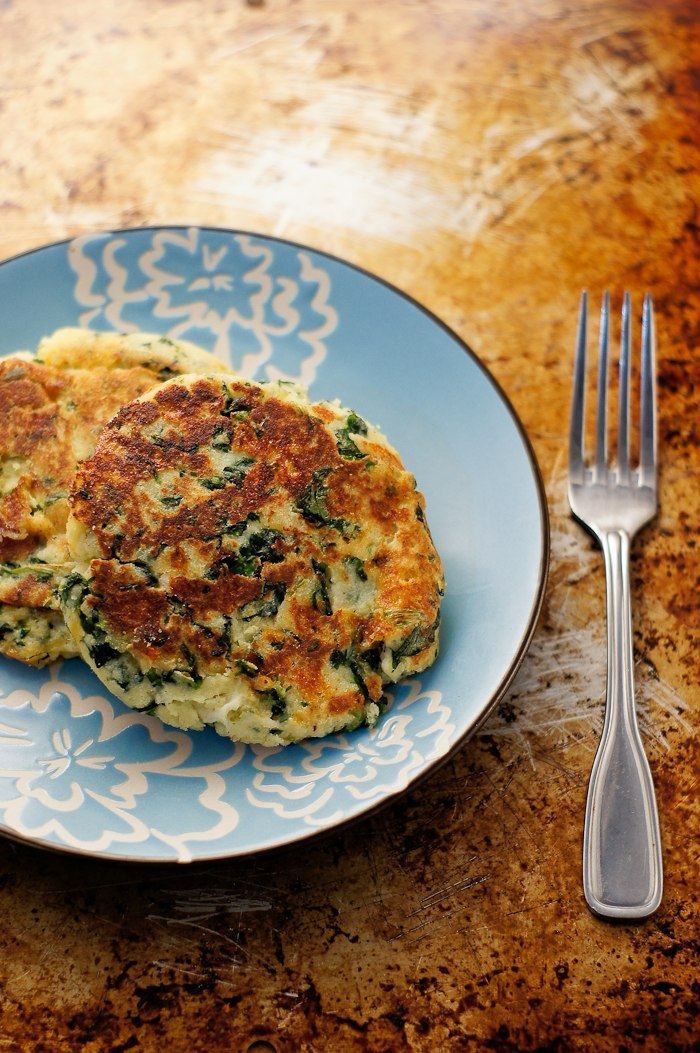 Easy Cheese Bubble & Squeak | thumb in plum