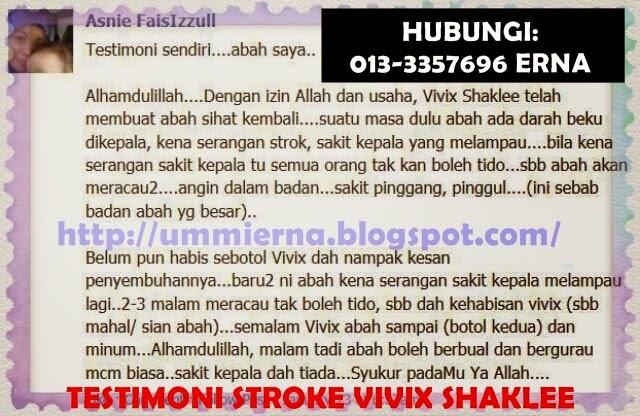 Supplement untuk pesakit stroke