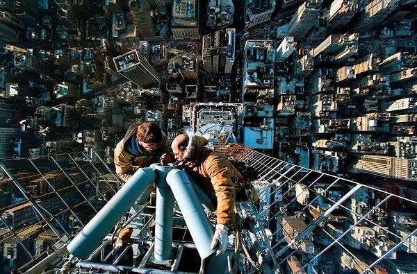 smiješan posao na neboder