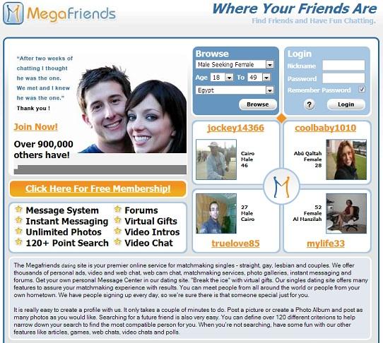 Megafriends dating
