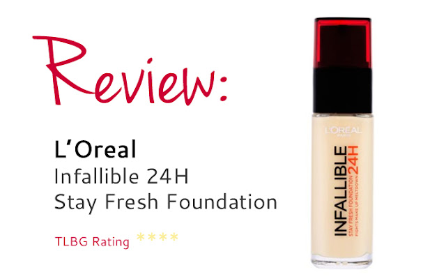 Review: Infallible 24H Foundation