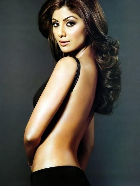 Shilpa Shetty nude Backless photo