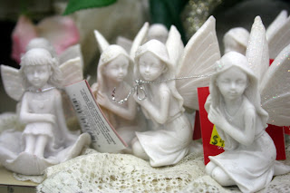 White Angel Ornaments