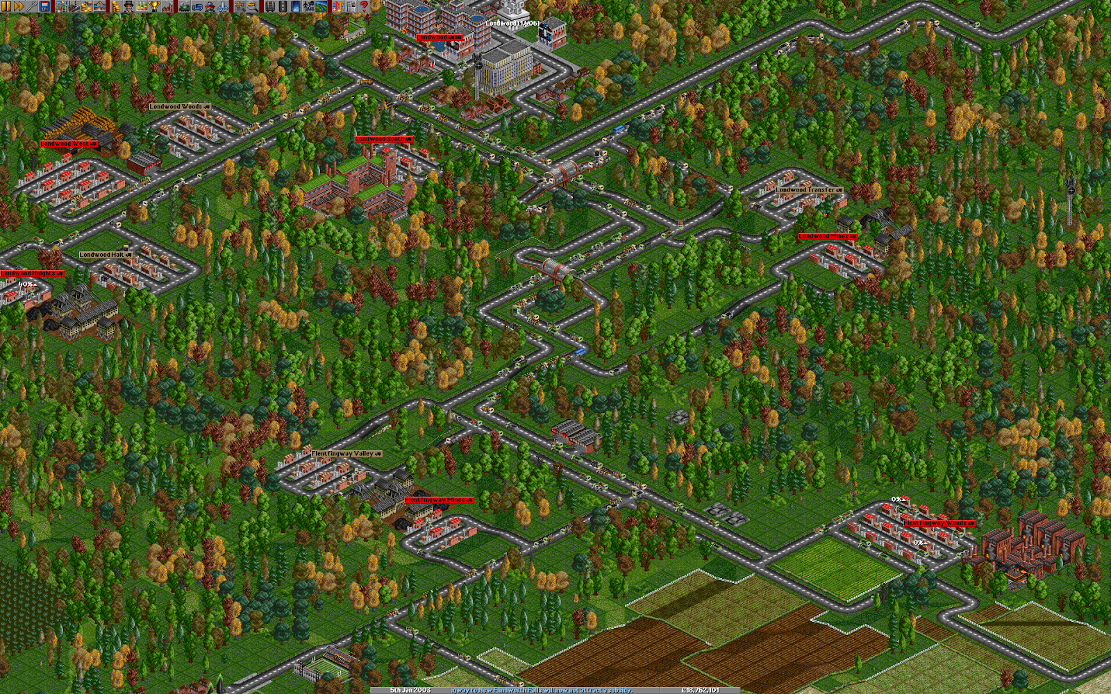 OpenTTD Produktion