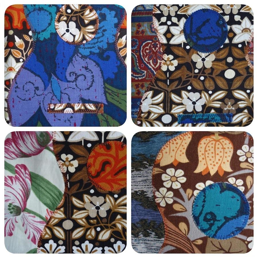 Appliqué details by Ivy Arch