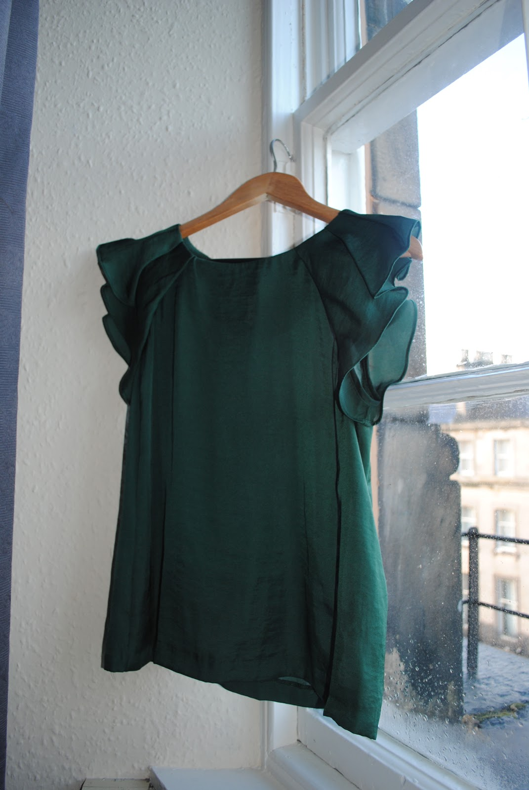 Zara Forest Green Blouse 116