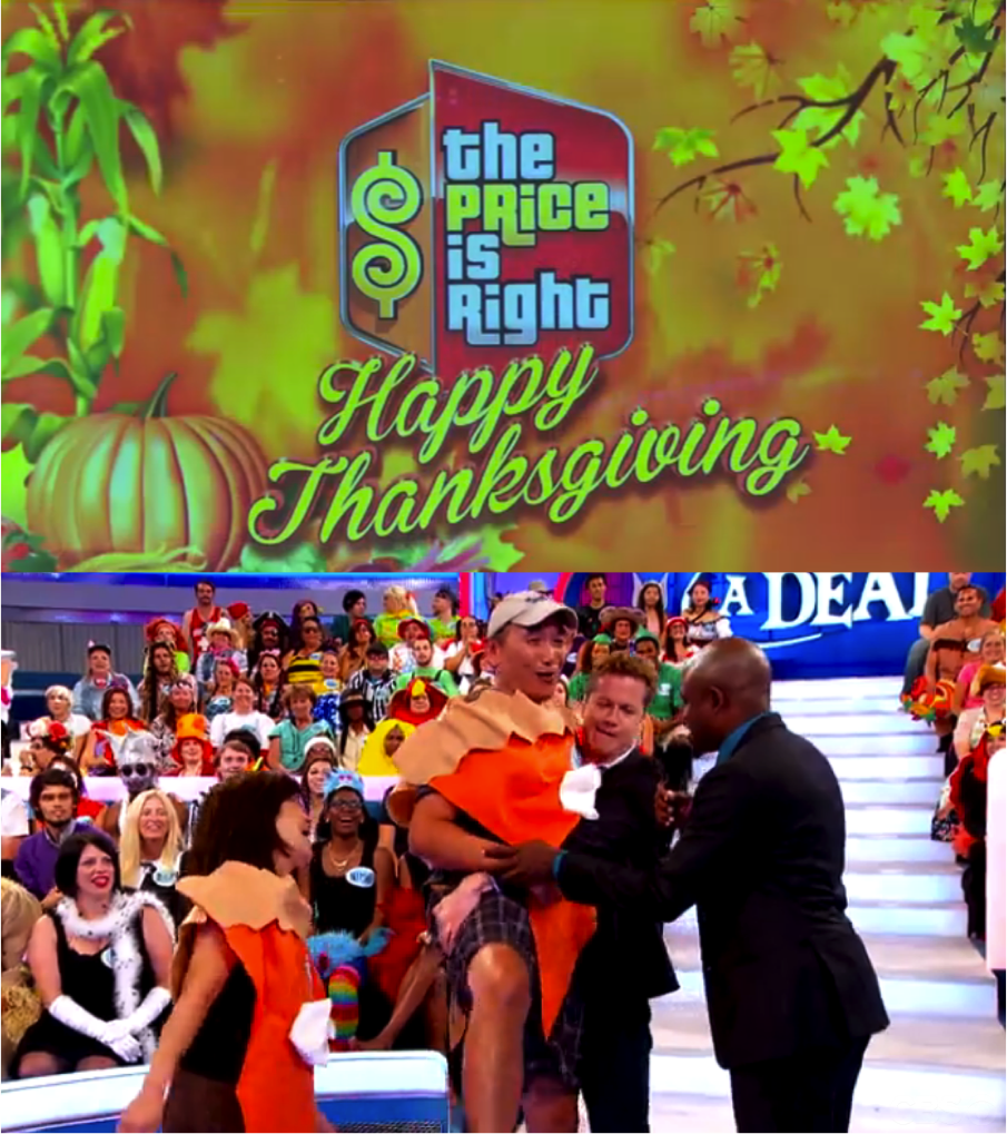 The Blog Is Right Game Show Reviews And More Thanksgiving Holiday Watch List Nov 26 28 The Price Is Right Let S Make A Deal Millionaire And Gsn Marathons