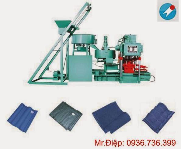 Máy sản xuất ngói màu