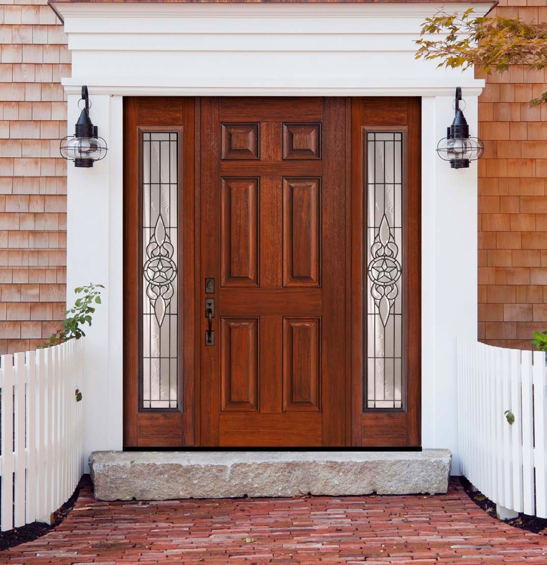 5 front entry doors with sidelights ideas instant knowledge for Front door and sidelights