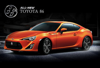 All New Toyota 86 Sport Cars