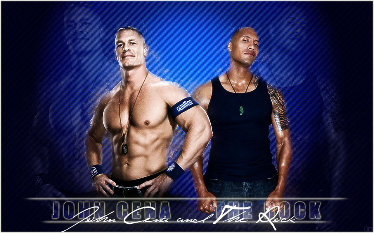 Wwf Pictures John Cena And Rock Hd Wallpaper