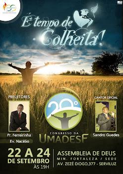 PR.FERREIRINHA MINISTRANDO NO 20º CONGRESSO ASS. DE DEUS MIM. FORTALEZA