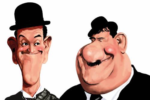 Dibujos de gordos y flacos - Imagui