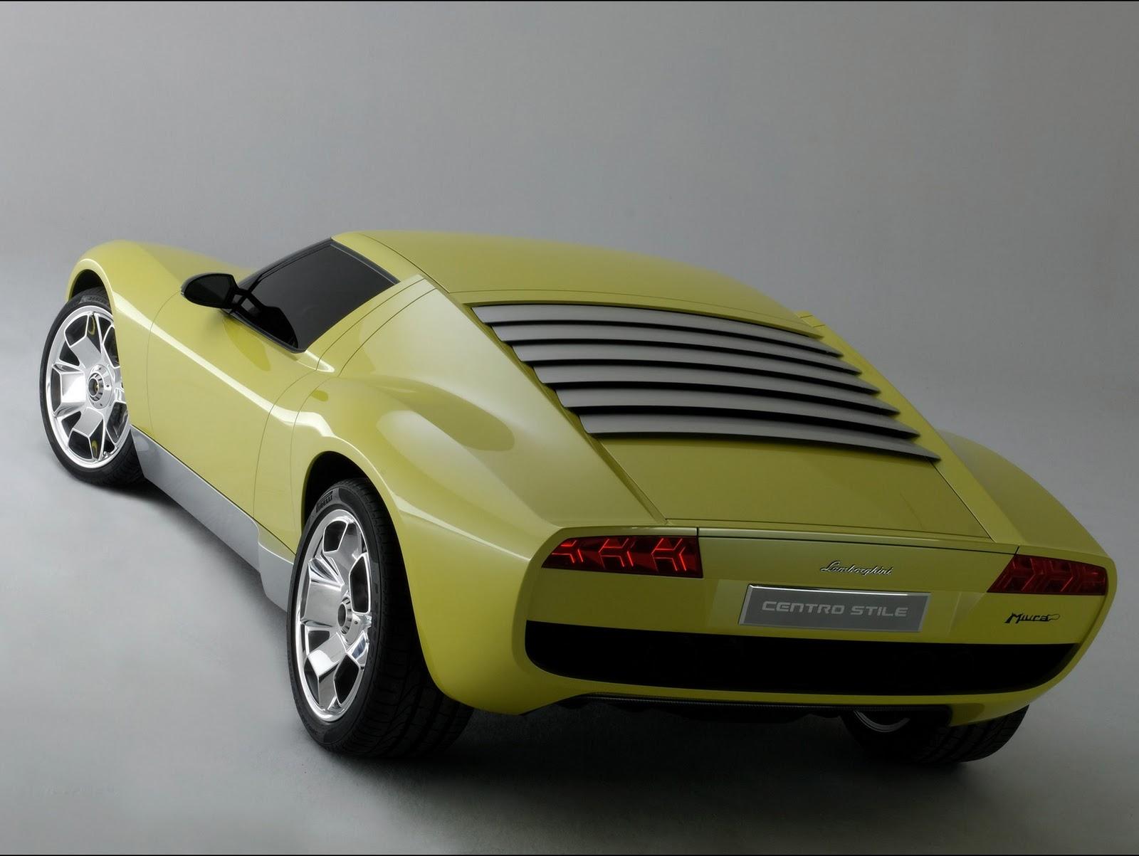 Lamborghini miura concept wallpaper