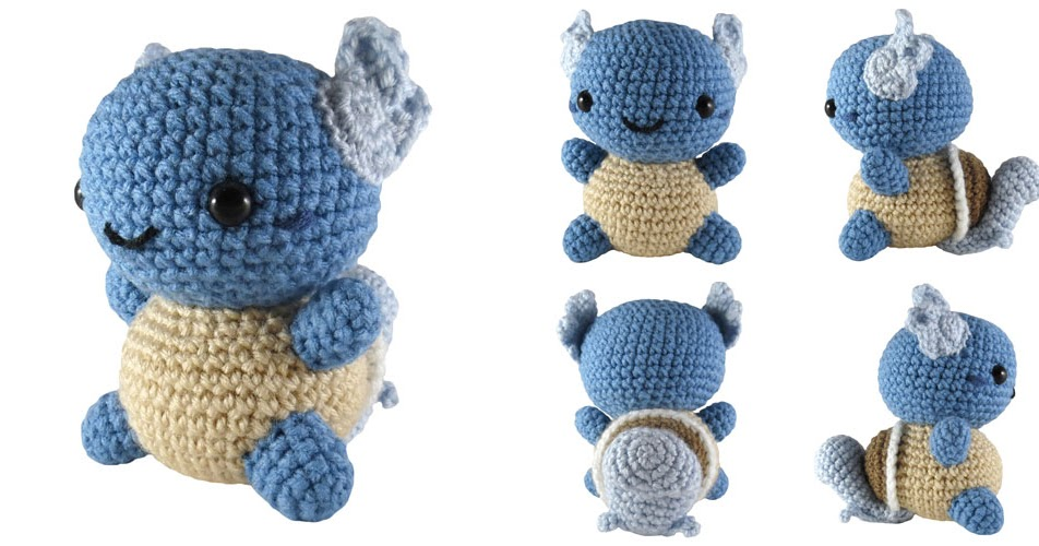 Crocheting Stuff : crochet things: Pattern: Wartortle Amigurumi