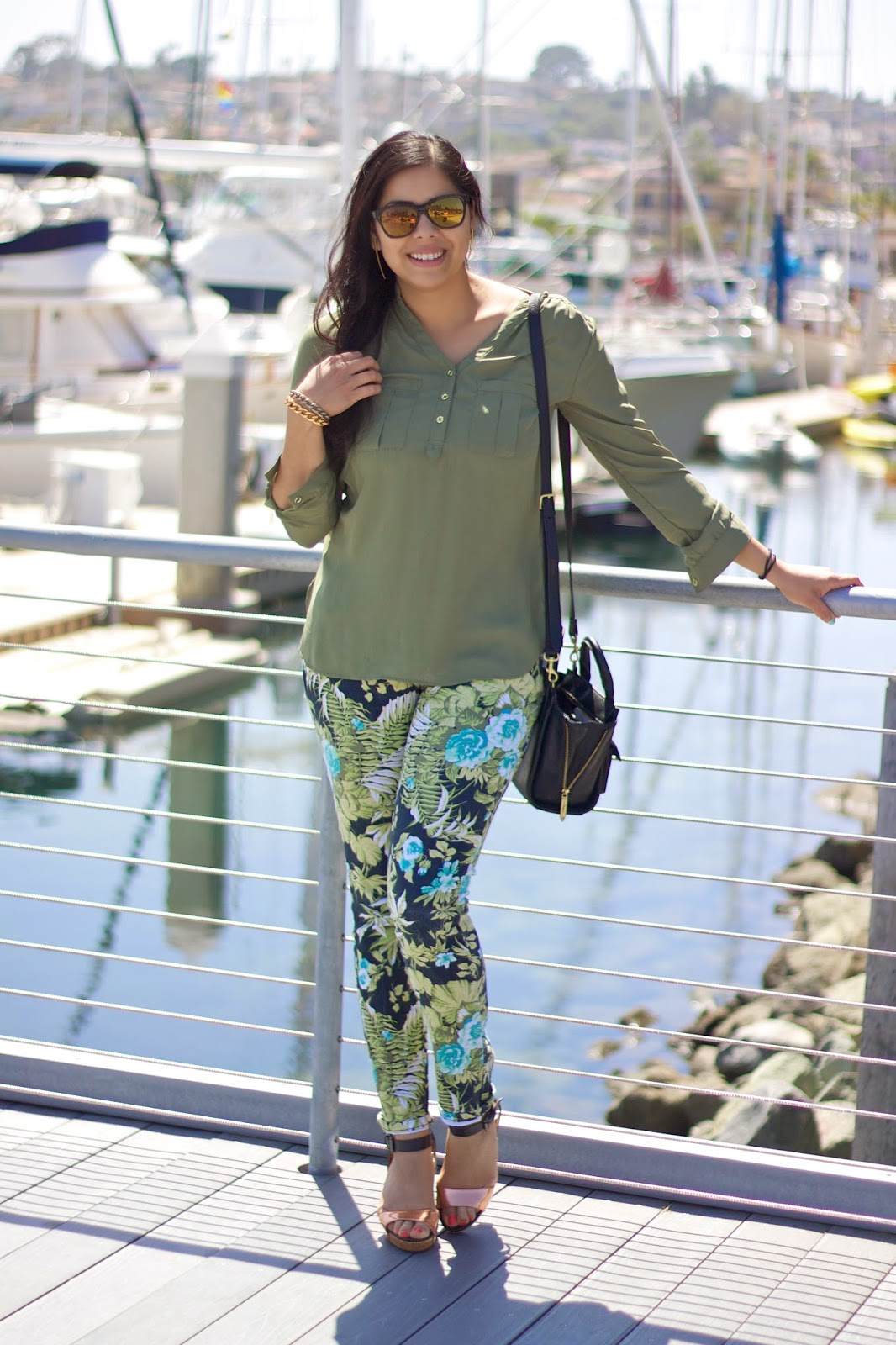 Vacation Mode outfit, tropical outfit, resortwear in San Diego