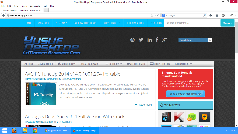 Screenshot Mozilla Firefox 27 Beta 4 Offline + Online Installer