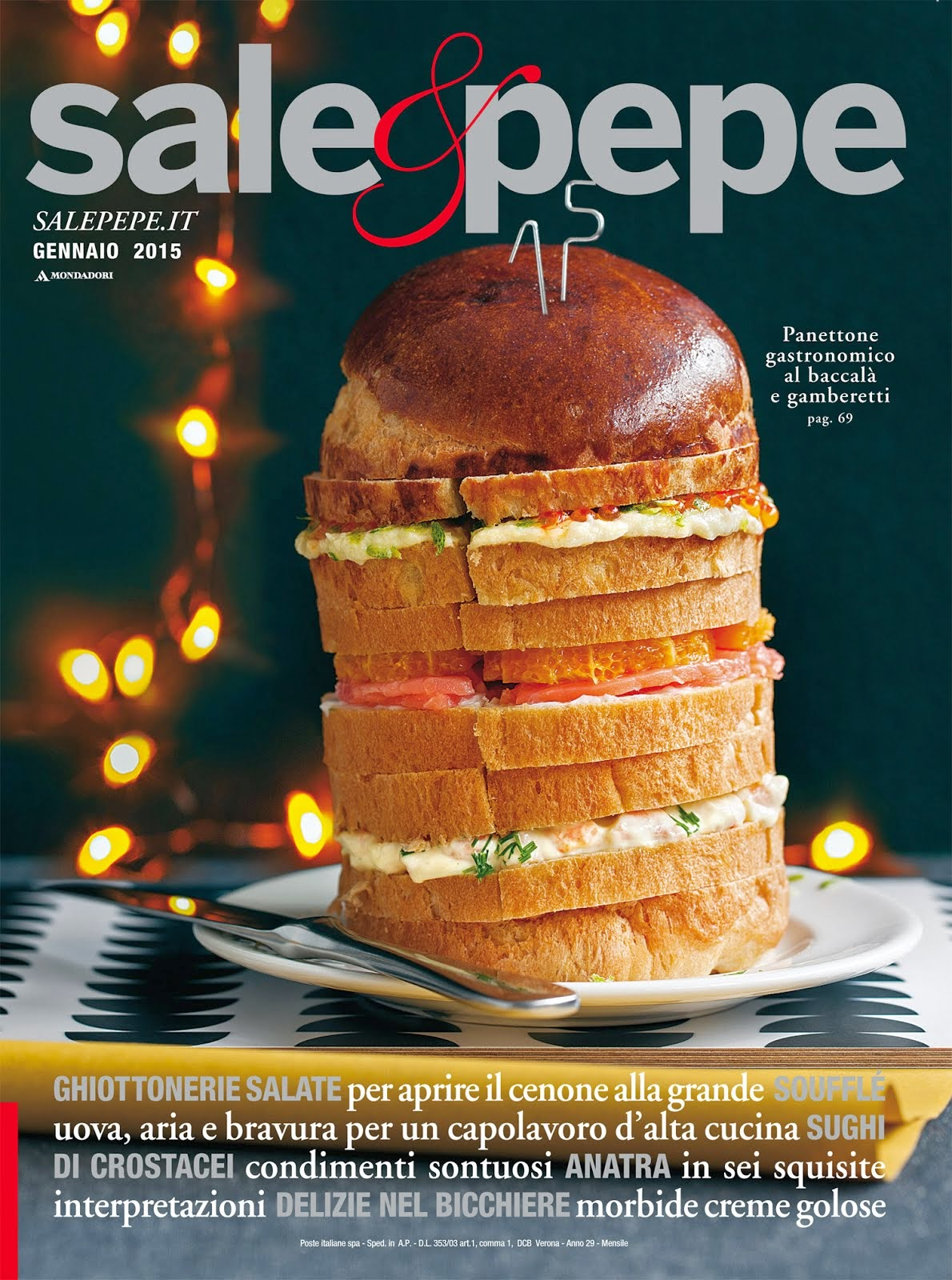 Il mio blog su Sale & Pepe di gennaio