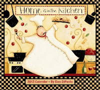2013 Home is in the Kitchen Calendar